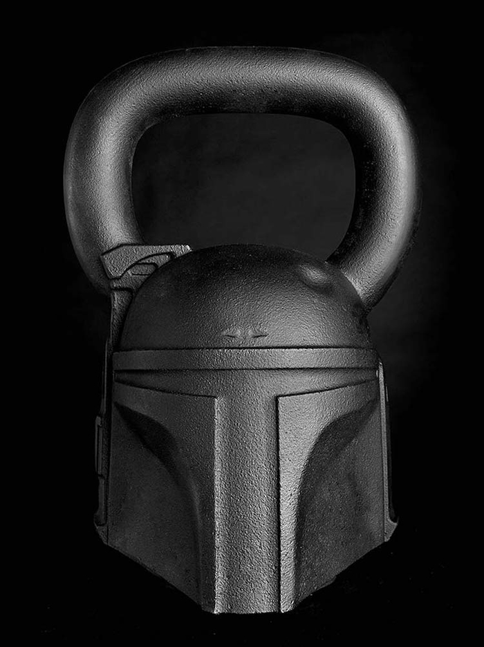 boba fett kettleball onnit star wars-themed fitness equipment