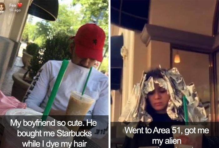 boyfriend got me my alien area 51 memes