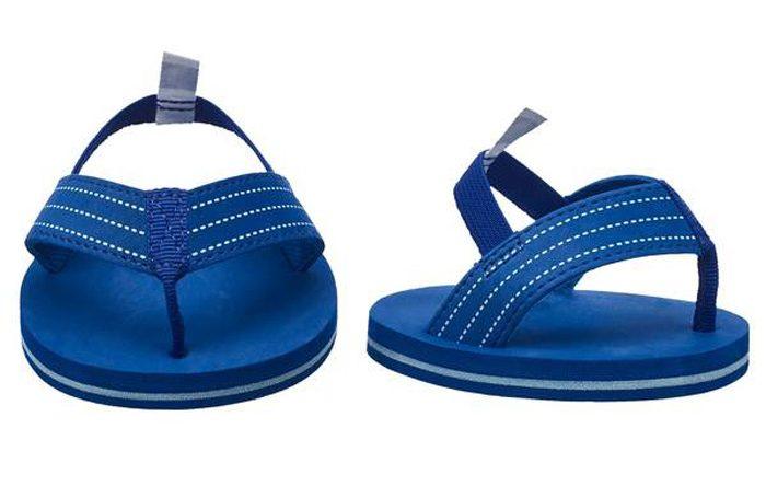 build-a-bear shark week collection flip-flop sandals