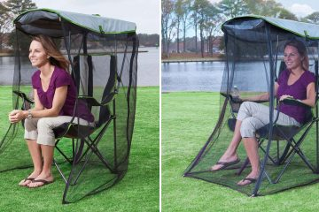 canopy chair with bug net