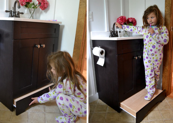 child vanity parenting hacks tricks tips
