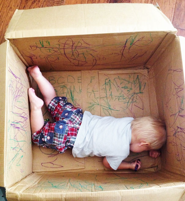 creativity in a box parenting hacks tricks tips