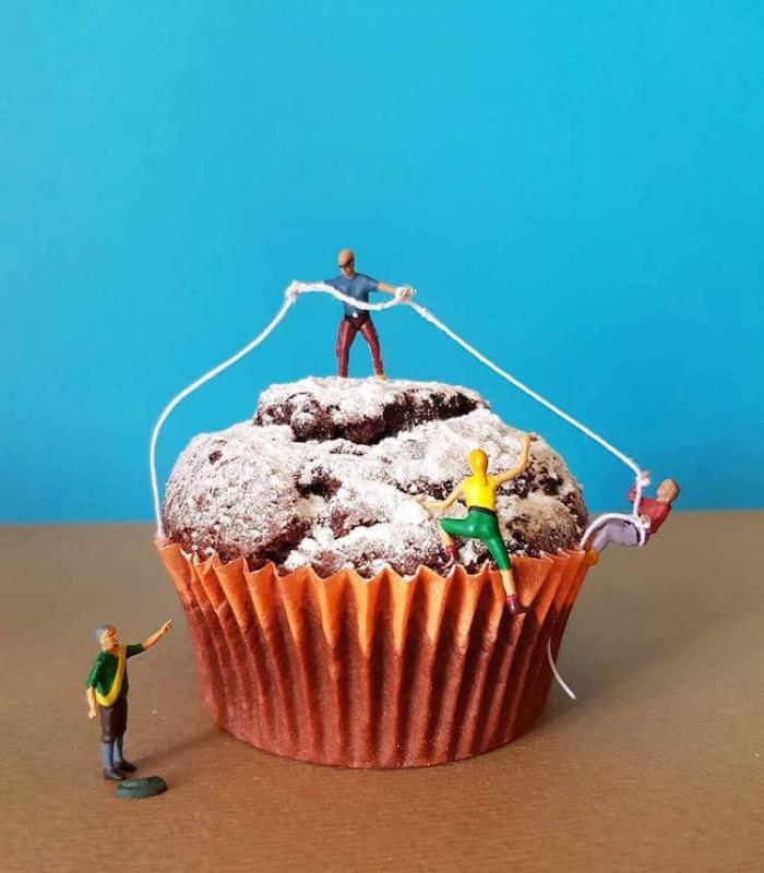 cupcake matteo stucchi dessert scenes