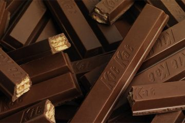 dark chocolate kit kat