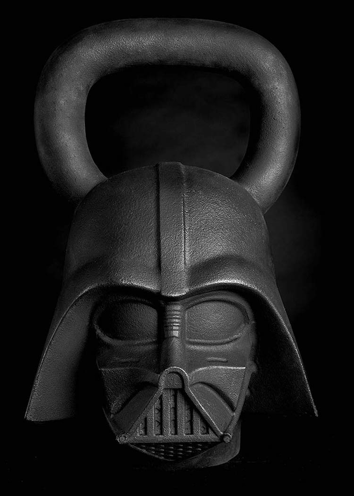 darth vader kettleball onnit star wars-themed fitness equipment