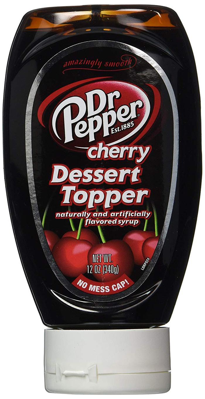 dr pepper cherry dessert topper amazon prime