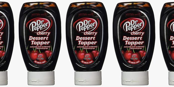 dr pepper cherry dessert topper