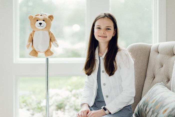ella casano iv infussion medi teddy
