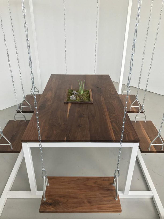 etsy 6-person swing table planter box