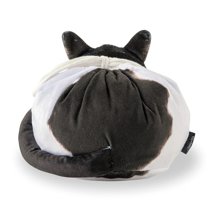 felissimo cat-shaped bags hachiware back