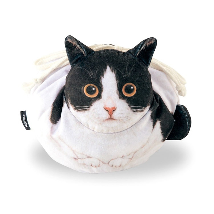 felissimo cat-shaped bags hachiware design