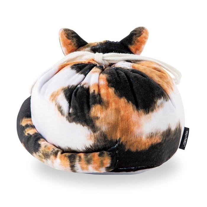 felissimo cat-shaped bags tortoiseshell back
