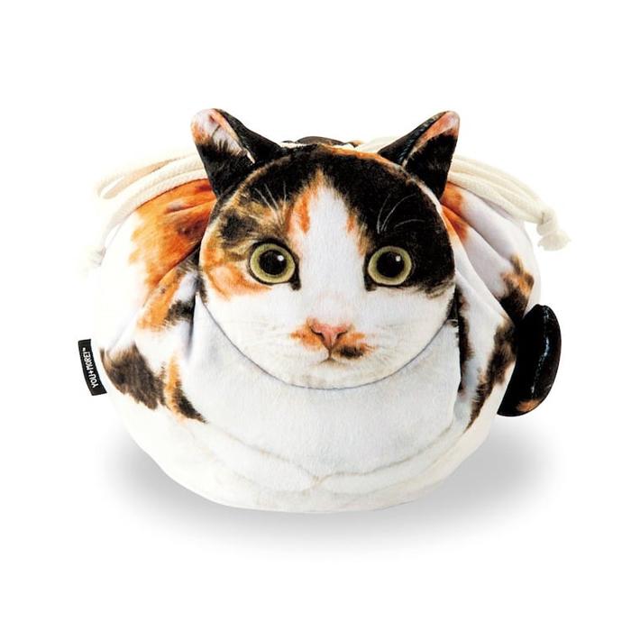 felissimo cat-shaped bags tortoiseshell design