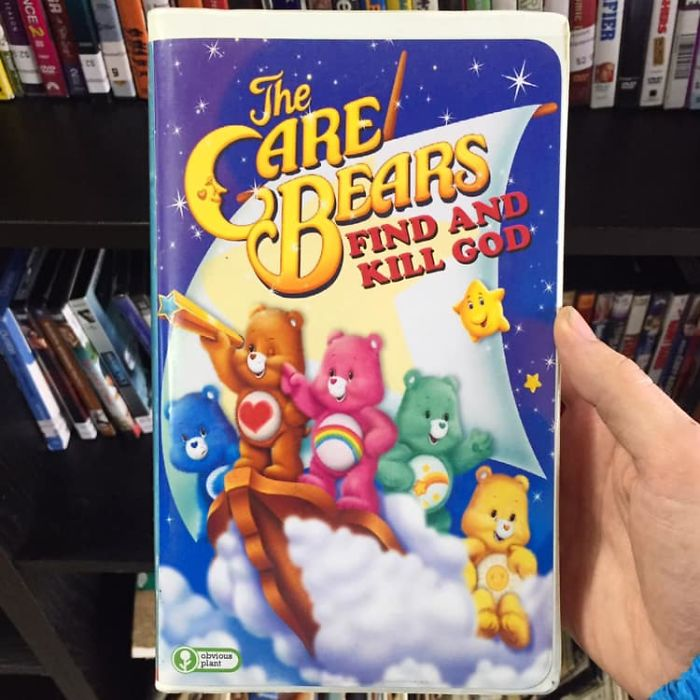 funny fake products obvious plant care bears