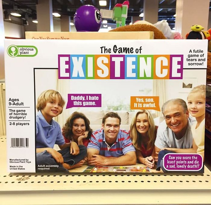 funny fake products obvious plant game of existence