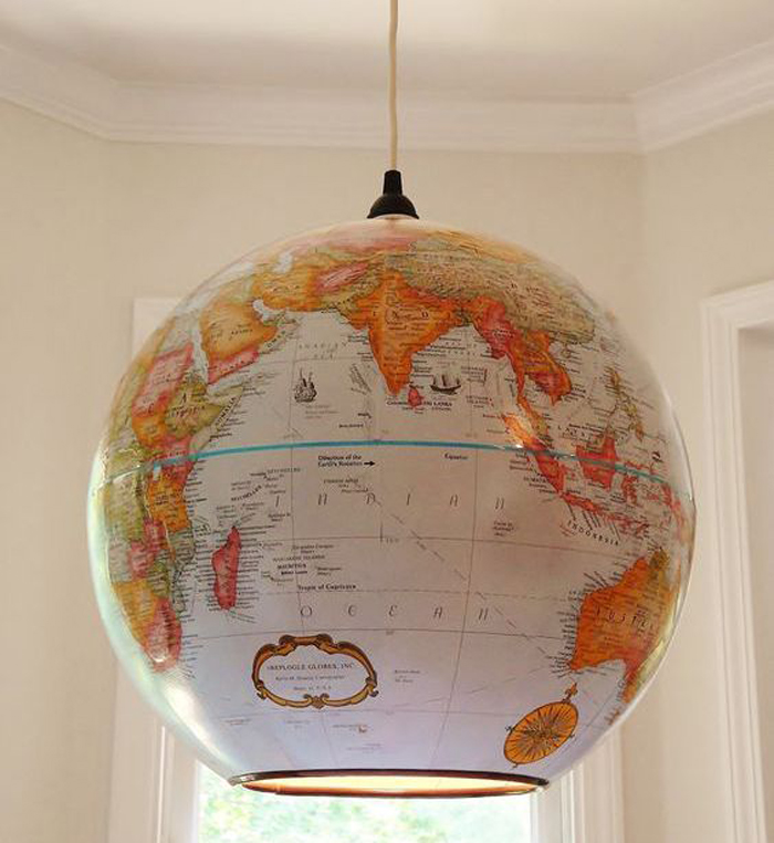 globe pendant light pinterest