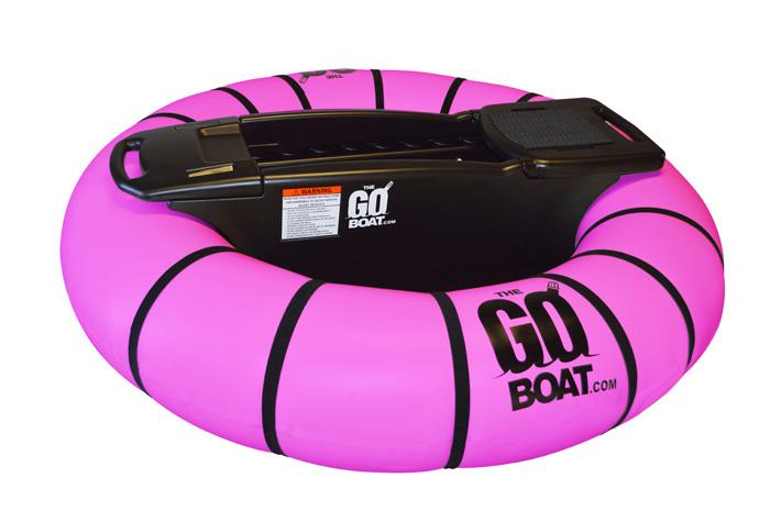 goboat bumper floats pink
