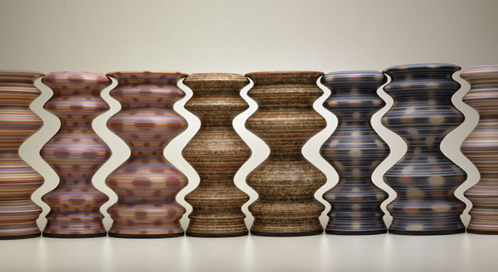 greg payce optical illusion vases swirls