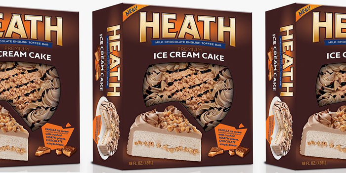heath ice cream cake rich products