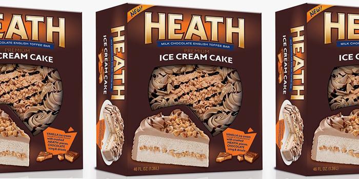 heath ice cream cake rich products