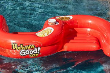 heluva good ss snacker pool float
