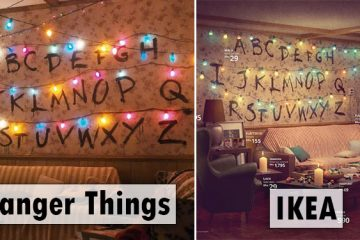 ikea famous living rooms recreated