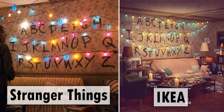 IKEA Showcases Its Products By Recreating Famous Living ...