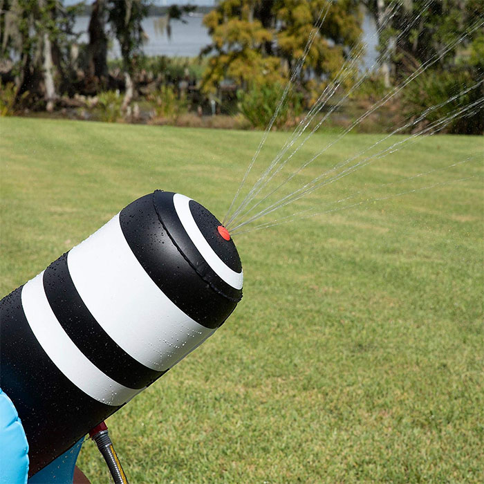 inflatable pirate water cannon