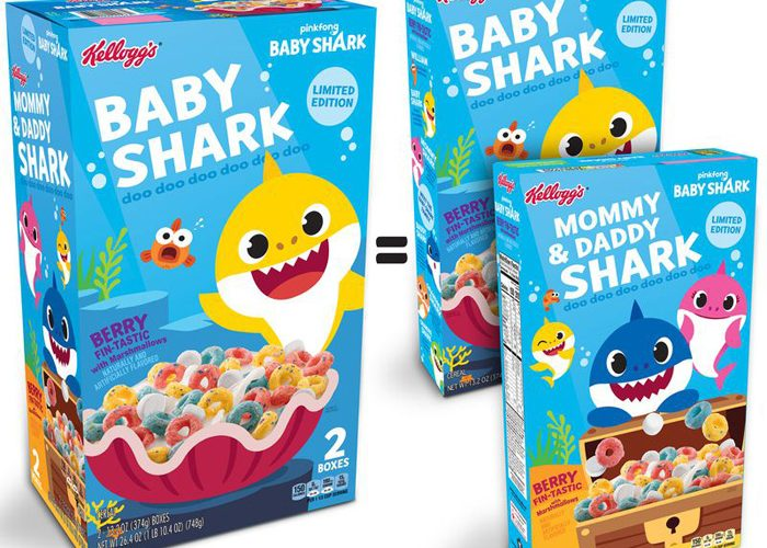 kelloggs baby shark cereal