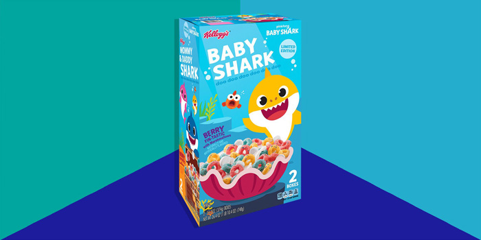 kelloggs baby shark cereal berry-flavored loops