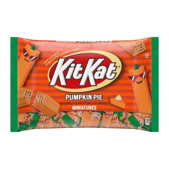 kit kat pumpkin pie hersheys halloween collection