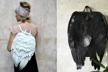 leather wings backpacks