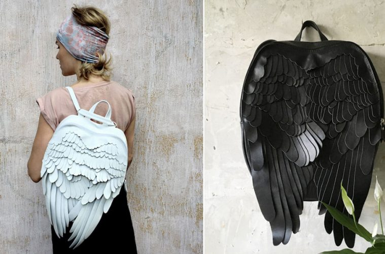 leather wings backpacks