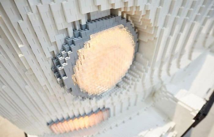 lights full size LEGO Volkswagen Camper