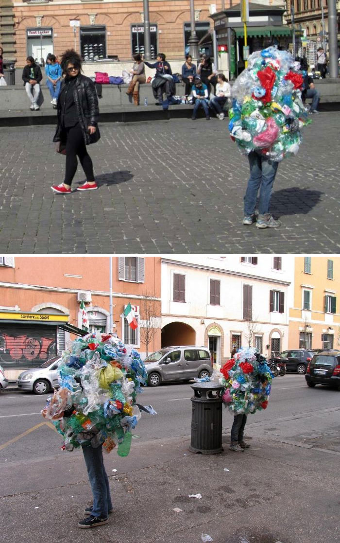 mark jenkins realistic mannequins plastic people rome italy