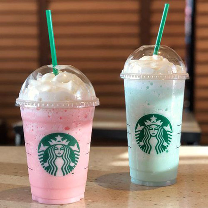 mind-blowing starbucks frappuccino flavors bubblegum cotton candy