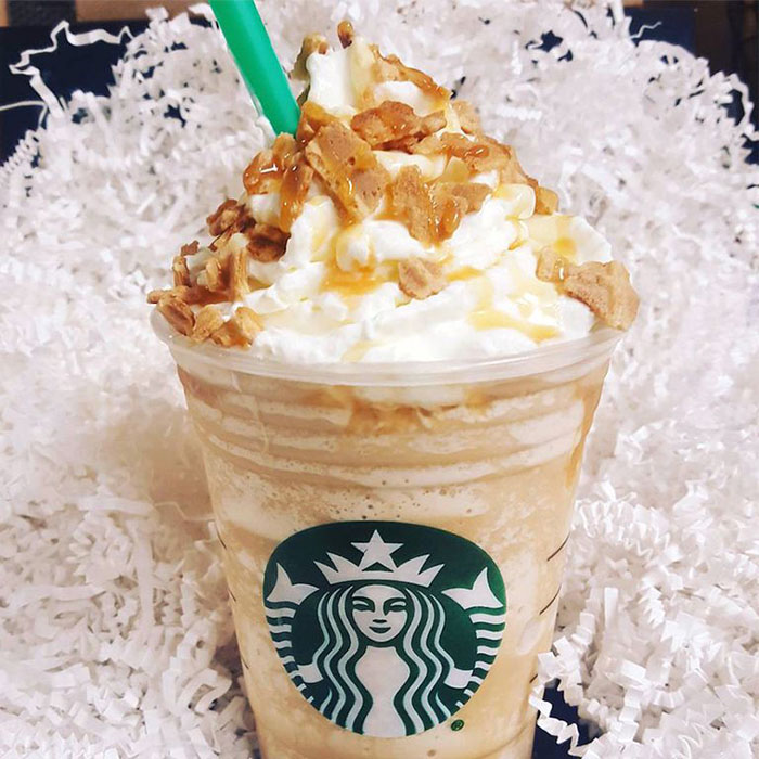 mind-blowing starbucks frappuccino flavors caramel waffle cone