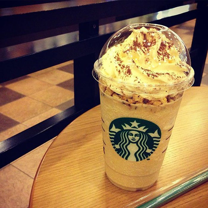 mind-blowing starbucks frappuccino flavors coffee tiramisu