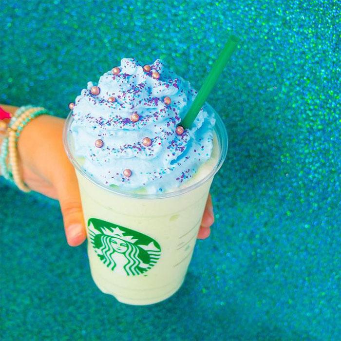 mind-blowing starbucks frappuccino flavors mermaid