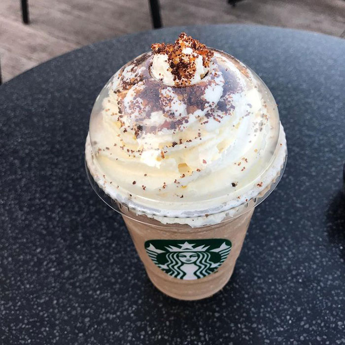 mind-blowing starbucks frappuccino flavors salted caramel brownie