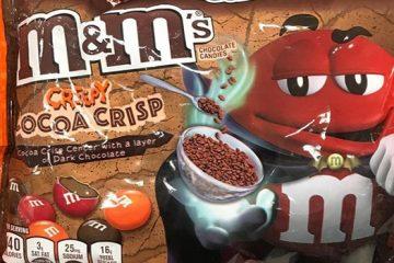 mms creepy cocoa crisp flavor