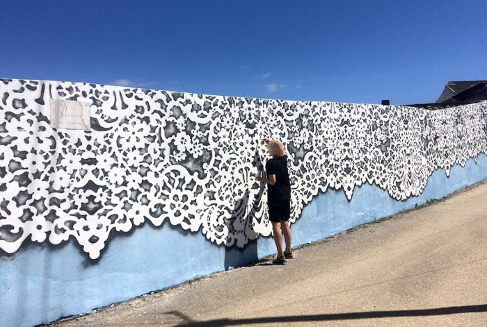 nespoon lacework murals bombarral portugal