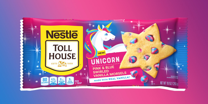 nestle toll house unicorn morsels vanilla