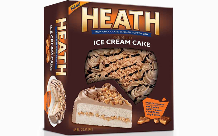 new heath ice cream cake