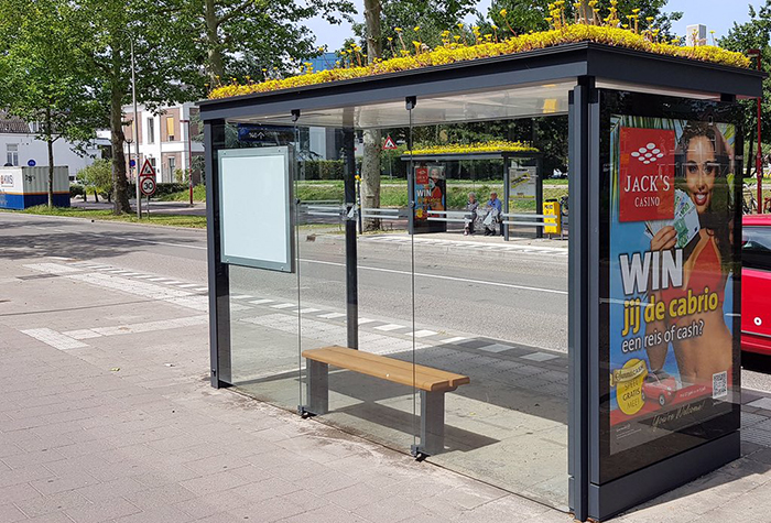 other side city in netherlands transforms bus stops into bee stops utrecht