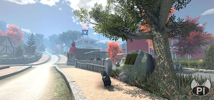 peace island open world game cat exploration