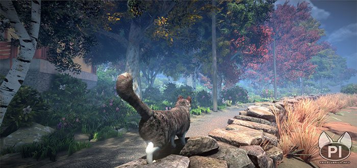 peace island open world game cats eric blumrich