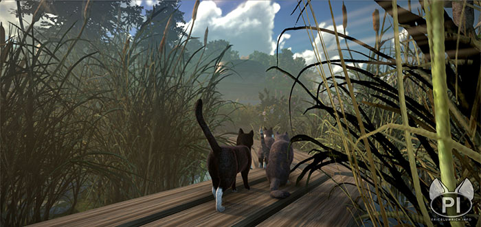 peace island open world game cats explorers