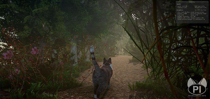 peace island open world game cats solve mysteries