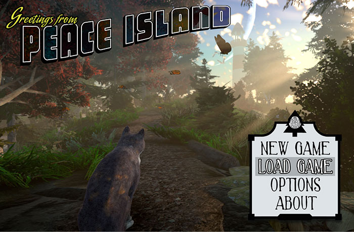 peace island open world game cats